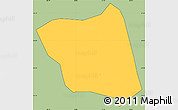 Savanna Style Simple Map of Soledade D'mina, cropped outside