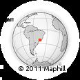 Outline Map of Wenceslau Braz