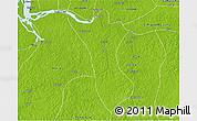 Physical 3D Map of Bujaru
