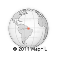 Outline Map of Bujaru