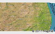 Satellite 3D Map of Paraiba