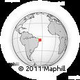 Outline Map of Alhandra