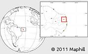 Blank Location Map of Araruna