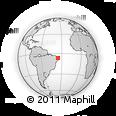 Outline Map of Araruna