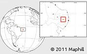 Blank Location Map of Barra Sao Miguel