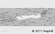 Gray Panoramic Map of Belem do Brejo C
