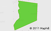 Political Simple Map of Boa Ventura, cropped outside