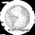 Outline Map of Boqueirao