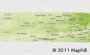 Physical Panoramic Map of Boqueirao