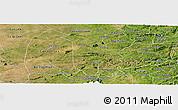 Satellite Panoramic Map of Boqueirao