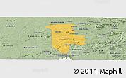 Savanna Style Panoramic Map of Boqueirao