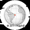 Outline Map of Camalau