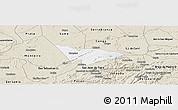 Classic Style Panoramic Map of Camalau