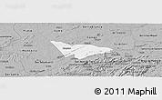 Gray Panoramic Map of Camalau