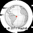 Outline Map of Coremas