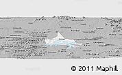 Gray Panoramic Map of Coremas
