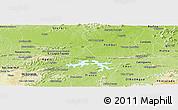 Physical Panoramic Map of Coremas
