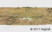 Satellite Panoramic Map of Coremas