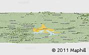 Savanna Style Panoramic Map of Coremas