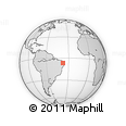 Outline Map of Desterro De Malta