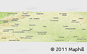 Physical Panoramic Map of Gurjao