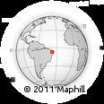 Outline Map of Itaporanga