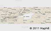 Classic Style Panoramic Map of Juazeirinho
