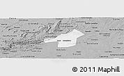 Gray Panoramic Map of Juazeirinho