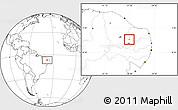 Blank Location Map of Lagoa