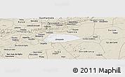 Classic Style Panoramic Map of Livramento