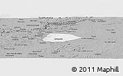 Gray Panoramic Map of Livramento