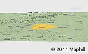 Savanna Style Panoramic Map of Livramento