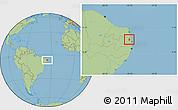 Savanna Style Location Map of Mamanguape