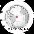 Outline Map of Mamanguape