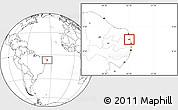 Blank Location Map of Mataraca