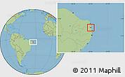 Savanna Style Location Map of Mataraca