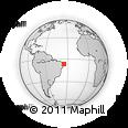 Outline Map of Mataraca