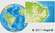Physical Location Map of Nazarezinho