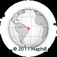 Outline Map of Nazarezinho