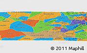 Political Panoramic Map of Pocinhos