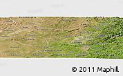 Satellite Panoramic Map of Pocinhos