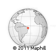 Outline Map of Pombal