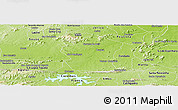 Physical Panoramic Map of Pombal