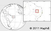 Blank Location Map of S. J. do Bonfim