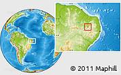 Physical Location Map of S. J. do Bonfim
