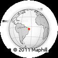 Outline Map of S. J. Do Bonfim