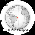 Outline Map of S.J. Do Cariri