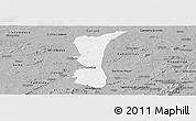 Gray Panoramic Map of S.J. do Cariri