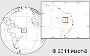 Blank Location Map of S.J. do Sabugi