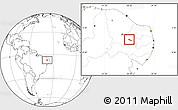 Blank Location Map of S.J.Lagoa Tapada